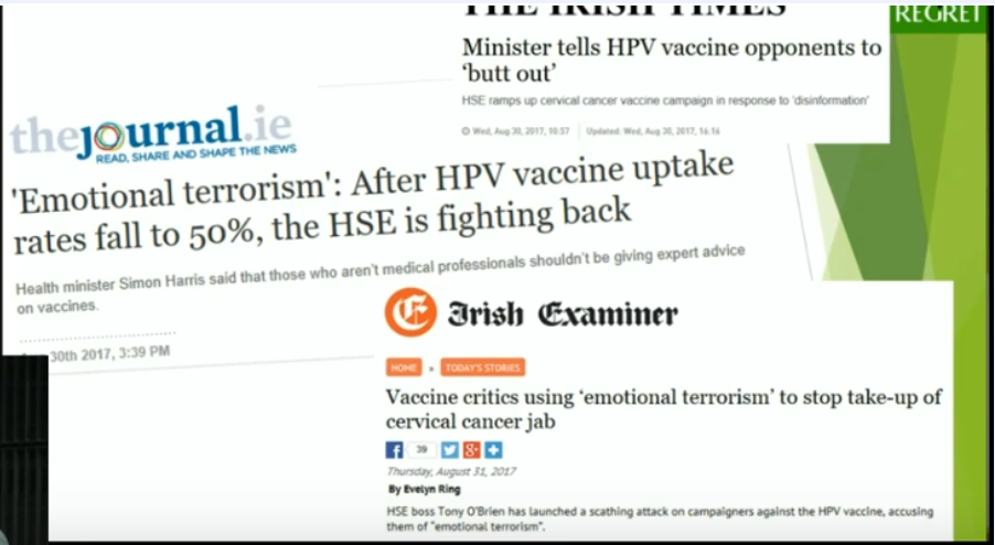 The Gardasil controversy: as reports of adverse effects